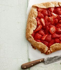 This light and fresh strawberry tart is a perfect dessert for your next spring get-together.