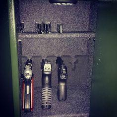 #new #modification #felt & #shelf #magazines #gunporn #guns #gun #9mm #radom #weapon #weapons #p83 #wanad #polishgun #gunlife #sigsauer #1911 #xdlife #xdm #springfield  #handmade #handgun #pewpew #pewpewpew #strzelec #led  #safe #wardrobe #pewpewlife by jadrys_andrzej