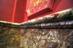 Indyjski marmur Forest Green