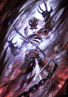 World of Warcraft by Raymond Swanland                                                                                                                                                      Plus http://www.helpmedias.com/wow.php