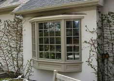 Bay Window Exterior Trim Bow Windows Front Wooden