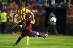 Las mejores imágenes del Osasuna-Barça