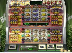 Výherné automaty Mega Joker - Výherné automaty Mega Joker vyvinuté firmou NetEnt majú jednu zvláštnosť, keďže ponúkajú dva valce 3x3 a umožňujú hrať v základnom režime, rovnako ako v režime Supermeter spolu s dvadsiatimi výhernými líniami. - http://www.3diamanty.com/hry/vyherne-automaty-mega-joker #HracieAutomaty #VyherneAutomaty #Jackpot #Vyhra #MegaJoker