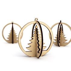 christmas tree Más. Christmas Tree DecorationsChristmas TreesChristmas OrnamentLaser CuttingCorte ...