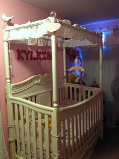 Disney Princess Enchanted 4 In 1 Crib White Ambiance By