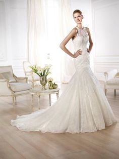 Pronovias presents the Yedira wedding dress. Buy Wedding Dress, White Wedding Gowns, Wedding Dresses 2014, Bridal Dresses, Prom Dresses, Inexpensive Wedding Dresses, Pronovias Wedding Dress, Prom Dress 2014, Engagement Dresses