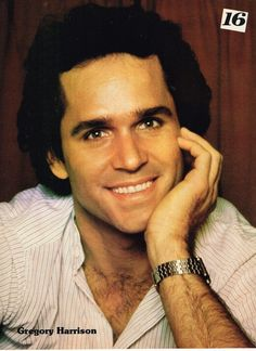 GREG GREGORY HARRISON pinup - TRAPPER JOHN M.D. FALCON CREST THE FAMILY MAN