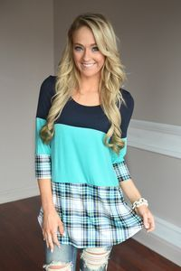 Plaid to Perfection ~ Blue - The Pulse Boutique