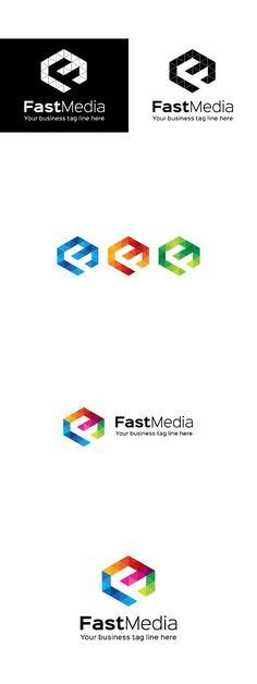 Fast Media Logo Template
