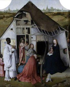 The Adoration of the Magi. Hieronymus Bosch