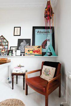 mes caprices belges: decoración , interiorismo y restauración de muebles: LA CASA DE Kathrine Højriis / Kathrine Højriis'HOUSE