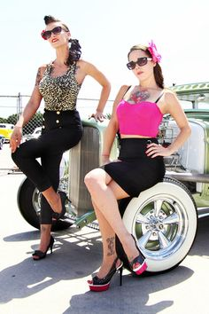 ALexis Capone and Lily  #American Pinups <3