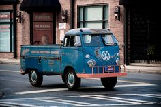 Old school vw, they are soo cool!