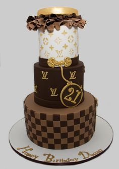 Louis Vuitton Birthday Cake | Flickr - Photo Sharing!