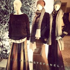 """In love with @stefanel_official window #mfw #naturalcolors #autumn #madeinitaly #stefanel #style #fashion #fashionblogger #loveit #instacool #instafashion #regram #wishlist #needinmycloset"" #Stefanel #FeelMore  Eleonora's #FeelMore"