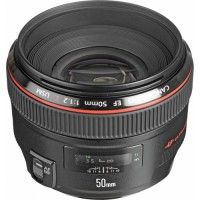 Canon 50mm EF f/1.2 L $25/Day $75/7 Days