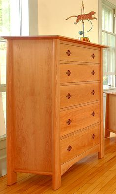 cherry moon 4 drawer chest handcrafted solid wood bedroom chest made in usa built bedroom furniture moduluxe