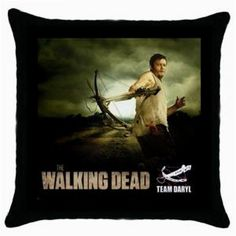 THE WALKING DEAD DARYL THROW PILLOW CASE $12.99
