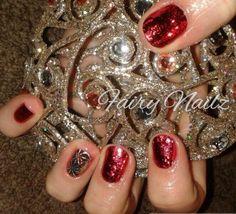 Fairy Nailz: #CNDShellac with foils