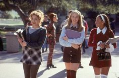 Clueless Is 18 — As If We Wouldnt Celebrate!: Over-the-knee socks and heeled Mary Janes? Check and check.  Shop the look below. Source: Facebook user Clueless