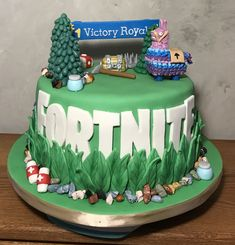 Image result for fortnite cakes