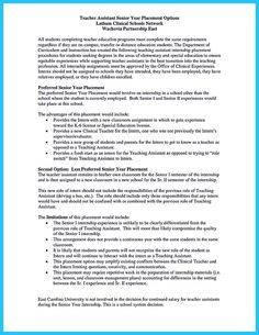 Resume For Preschool Teacher There Are Several Parts Of Assistant Teacher Resume To Concern