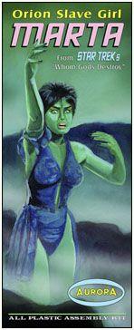 Star Trek MARTA Whom God's Destroy Aurora Fantasy Box