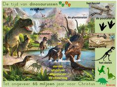 woordcluster geschiedenis: dinosaurussen