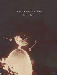 La Piedra de Resurrección (la segunda de las tres Reliquias de la Muerte).
