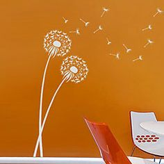Stencils, flower stencils for easy wall decor, trendy stencil designs, stenciling tips and supplies