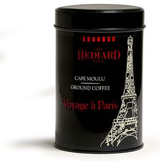 Hediard Ground Coffee Arabica - Voyage a Paris - 8.8oz.