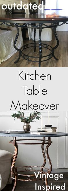 Kitchen Table Makeov