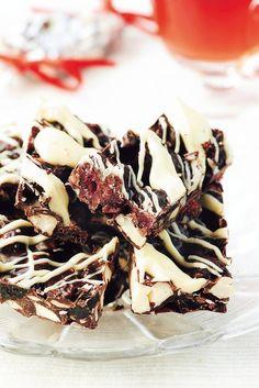 Suklaa-metsämarjapalat | K-ruoka #joulu