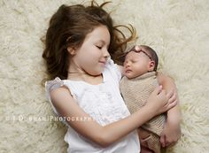 "http://learnshootinspire.com/ ""one a day"" by J. Dunham Photography on Facebook! #newborn #sibling #photography"