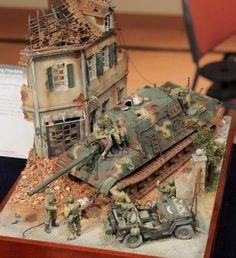 Military diorama