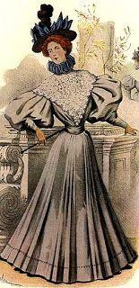 século XIX alta costura na belle époque -garotavodu.blogspot.com