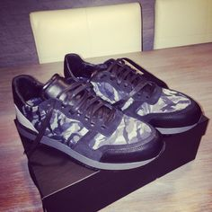 Fresh new sneakers!