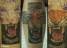 6 часов #realistic #tattoo #realism #colortattoo #animalism #краснодар #zootattoo #татуировкавкраснодаре #фотореализм #tattooartwork #tattooartist #alexandr_shironihin #tattooinrussia #tattooart #tiger