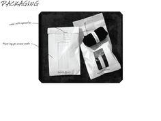 Minimalist approach to packaging men's underwear:  bread bags