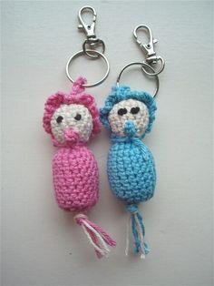 Gehaakt gelukspoppetje / haakpatroon - Baby ---- crochet - pattern - amigurumi - patroon - haken - gehaakt