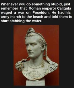 This makes me laugh<<<< yeah, cause that's how to kill an immortal sea god. By stabbing the water.