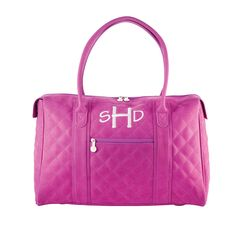 Find the City Tote - Purple on page 29 of the Fall & Winter 2013-2014 StyleBook! #iifall www.myinitials-inc.com/juliehill