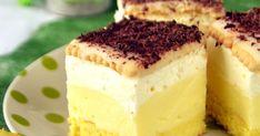 Ciasto, w którym rozsmakuje się każdy amator cytrynowych klimatów. Jak dla mnie jest mega. Puszysty biszkopt, kwaskowy krem cytrynowy ,... Tiramisu, Cheesecake, Baking, Ethnic Recipes, Sweet, Polish, Cakes, Diy, Deserts
