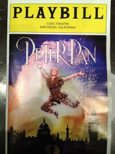 Peter Pan at the San Diego Civic Center