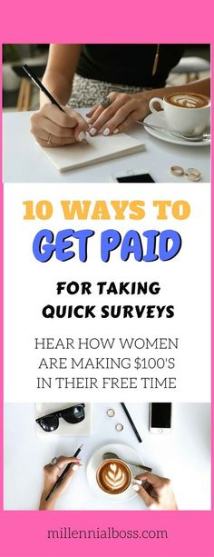 11 Legitimate Survey Companies That Pay Cash + Gift Cards - Millennial Boss Get Paid For Surveys, Surveys For Money, Best Online Survey Sites, Online Jobs, Grocery Shopping App, Cash Gift Card, Gift Cards, Job Website, Survey Companies