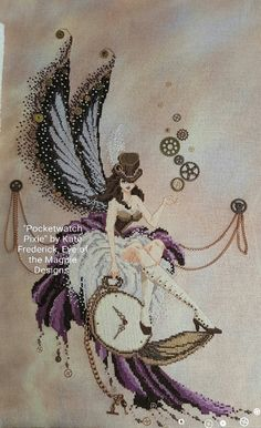 Buy Now The Pocketwatch Pixie by Kate Frederick by EyeoftheMagpieByKate 14.00�