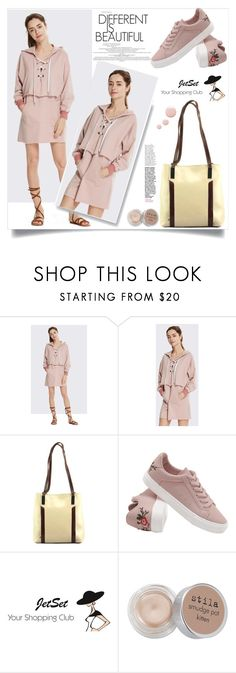 """""""JetSet shop!"""" by samra-bv ❤ liked on Polyvore featuring Carbotti, Stila, Topshop, Fall, chic, bag and autumn"""