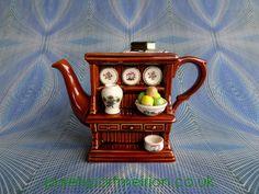 Vintage Portmeirion Miniature Collectable Teapot, Welsh Dresser By Paul Cardew Design - TP2