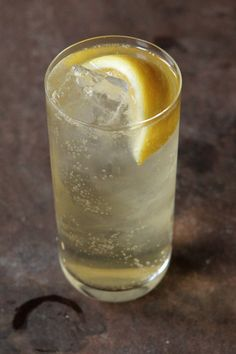 The Beton: spicy, herbal Becherovka, a Czech liqueur, opens up beautifully with a splash of tonic.