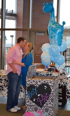 Baby Gender Reveal Party - it's a boy!